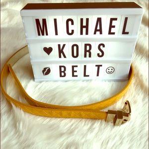 Michael Kors Reversible Belt😍